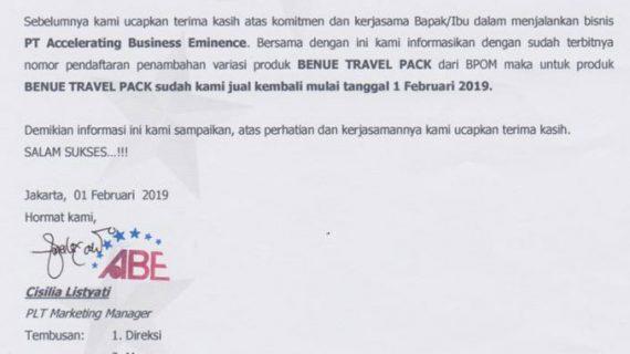 beneu travel pack