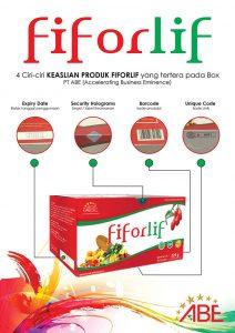 Perbedaan FIFORLIF Asli dan Palsu
